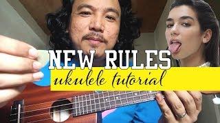 Download lagu DUA LIPA NEW RULES UKULELE TUTORIAL *EASY*
