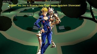 Roblox Jou Jou is Bizarre Gold Experience Requiem Showcase!