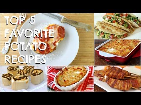 Top 5 Favorite Idaho Potato Video Recipes