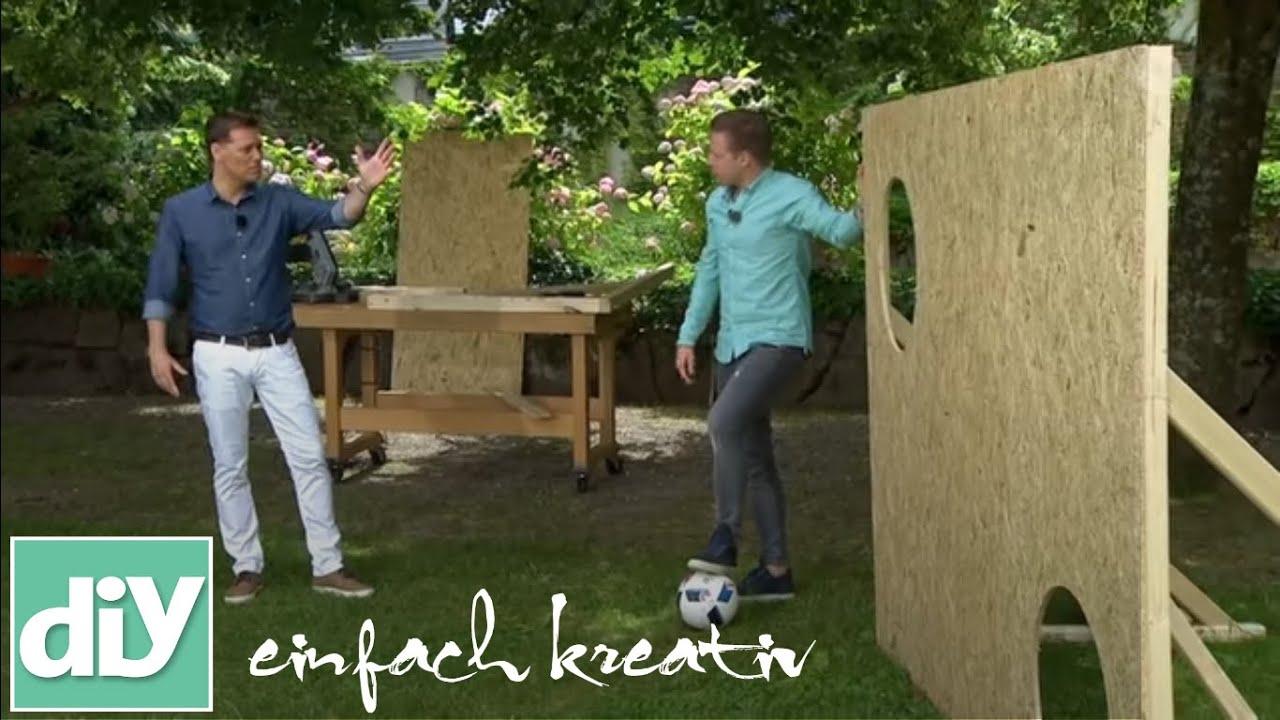 Torwand Aus Holz Diy Einfach Kreativ Youtube