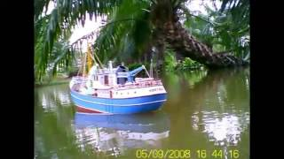 RC Trawler(old video)