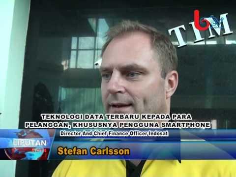 CFO Indosat visit Balikpapan TV (BTV) di Balikpapan