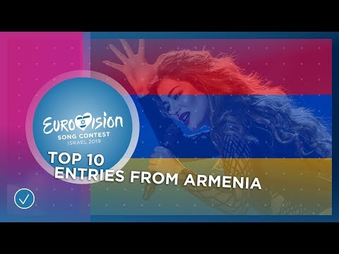 TOP 10: Entries From Armenia 🇦🇲 - Eurovision Song Contest