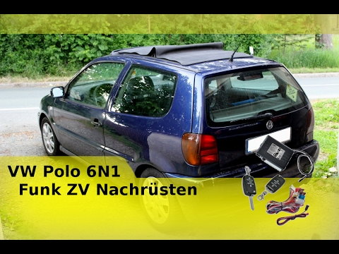 vw polo 6n1 funk zv nachr sten youtube. Black Bedroom Furniture Sets. Home Design Ideas