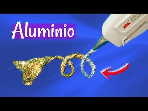 IDEAS CON ALUMINIO ORIGINALES CON APARIENCIA DE METAL DIY
