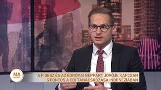 A Fidesz és az Európai Néppárt jövője kapcsán is fontos a CDI tanácskozása Indonéziában