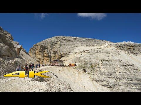 Dolomites Terrazza Delle Dolomiti Italy 4K 🇮🇹