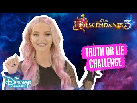 Descendants 3 | Truth Or Lie Challenge Ft. Dove Cameron 😱 | Disney Channel UK