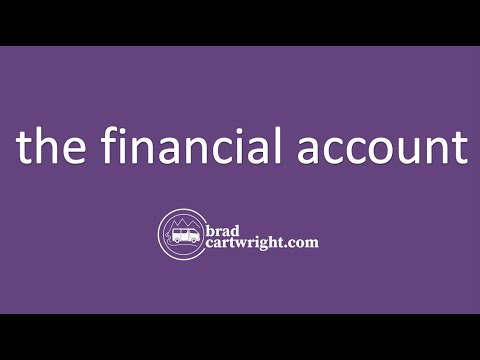 Balance of Payments Series:  The Financial Account