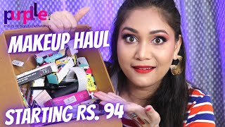 Purplle.com Makeup Haul  Starting Rs. 94/ I Love Beauty Sale Haul / Nidhi Katiyar