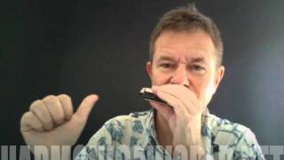 Top 5 Sonny Terry riffs from playharmonica.co.uk on Hohner Marine band harmonica