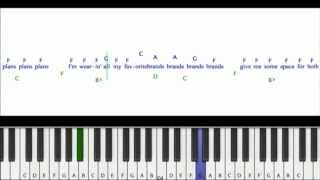 Download Taio Cruz -Dynamite Piano Tutorial MP3 song and Music Video