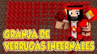   REDSTONE MINECRAFT   GRANJA DE VERRUGAS INFERNALES