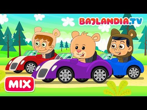 Jadą, jadą misie - piosenki dla dzieci bajlandia.tv - Zestaw 11 piosenek