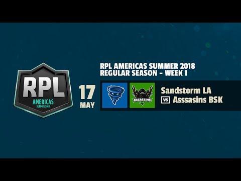 RPL AMÉRICAS | Sandstorm LA VS Assasins BSK | Semana 1