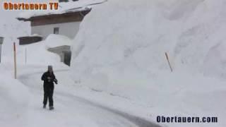 5 Meter Schnee in Obertauern