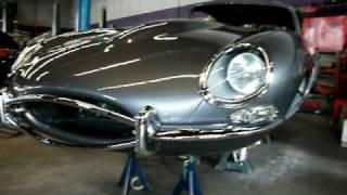 jaguar e type 1967 fhc restoration