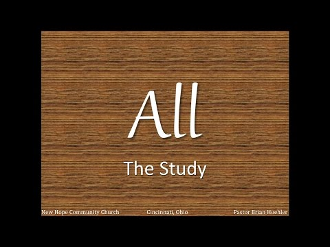 04/19/15 Sermon - The Study
