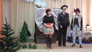 "Театральная постановка сказки ""Красная шапочка"""