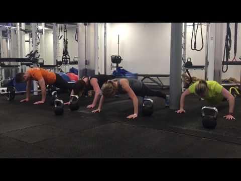 Group Personal Training workout class, Farnham, Surrey