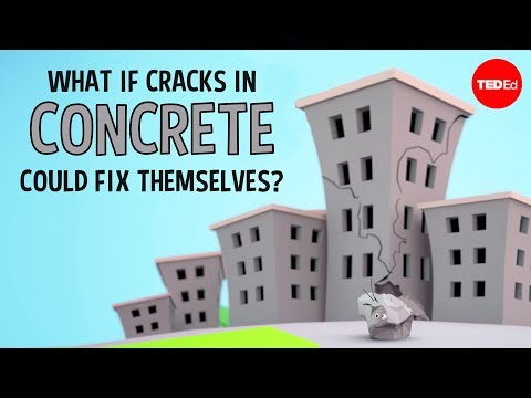 Video image: What if cracks in concrete could fix themselves? - Congrui Jin