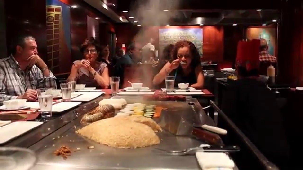 Norwegian Cruise Asian Restaurant Live Cooking