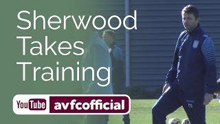 Sherwood's First Aston Villa Training Session