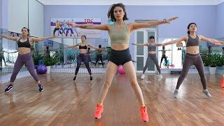 30 Mins Aerobic Workout to Burn Belly Fat Quickly Reduction of Belly Fat at Home Eva Fitness
