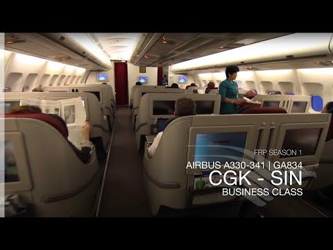 FRP S1E6 - Garuda Indonesia GA834 Executive Class Experience | Jakarta - Singapore