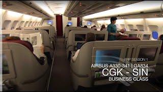 FRP S1E6 - Garuda Indonesia GA834 Executive Class Experience   Jakarta - Singapore
