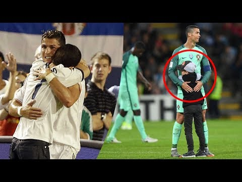 Cristiano Ronaldo HUGS with Fans #RESPECT | Emotional Video 2017