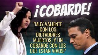El HOSTIÓN con el que ARRIMADAS ha SACADO LOS COLORES a SÁNCHEZ ¡POR SER UN COBARDE FRENTE A CUBA!