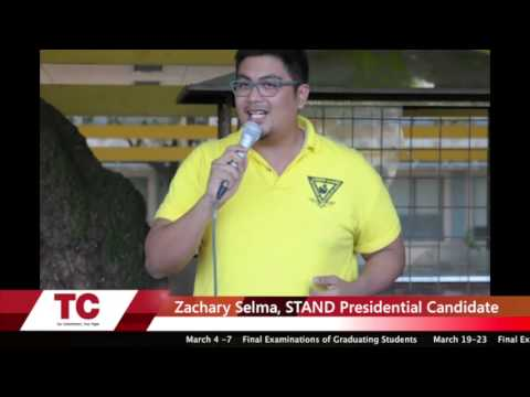 Grand Rally (USC-TC) Coverage Part 3 - Presidential Candidates