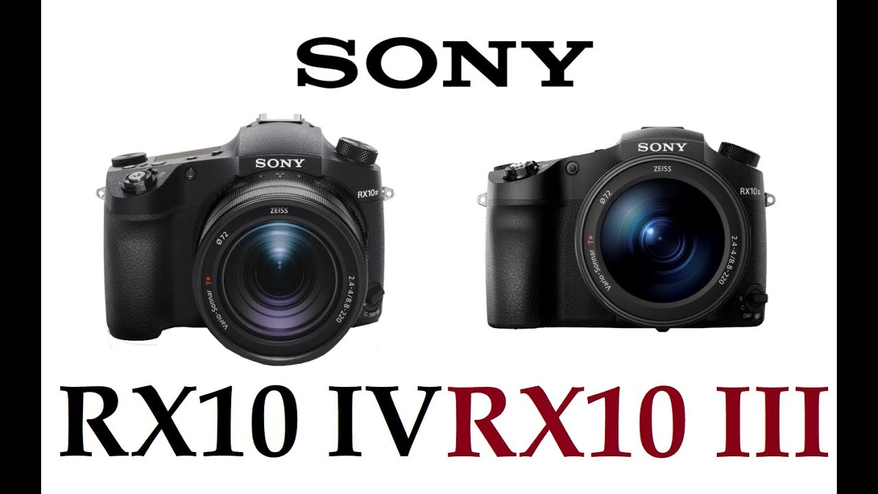 sony rx10 iv. sony cyber-shot rx10 iv vs iii rx10 iv s