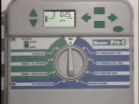 Sprinkler Timer Wiring Diagram Toyota Radio Hunter Pro-c Controller - Youtube