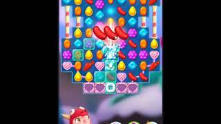 Candy Crush Friends Saga Level 143 - NO BOOSTERS 👩‍👧‍👦 | SKILLGAMING ✔️