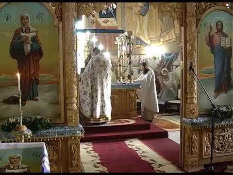Недільна Літургія в Свято Успенському храмі смт Середнє 29 12 2019р