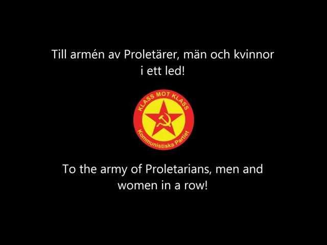 Knutna Nävar - Om jag någonsin skall strida (Eng/Swe lyrics)