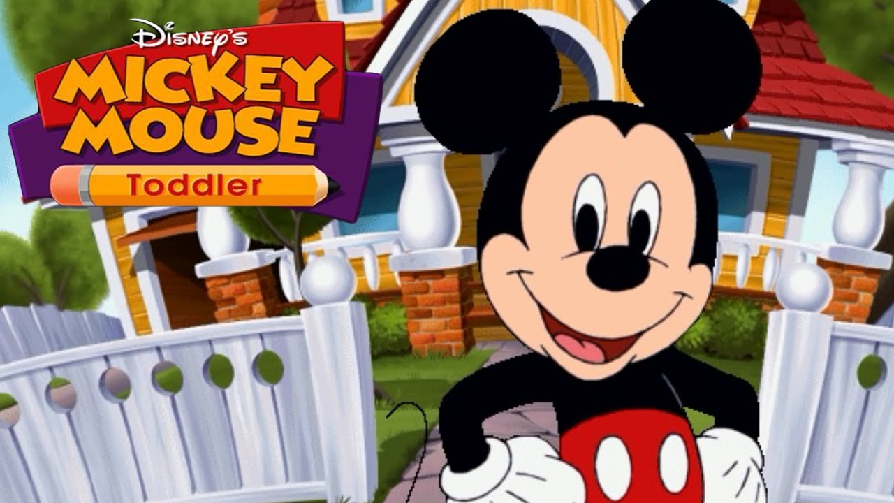Disney's Mickey Mouse Toddler COMPLETE LEARNING SHOW With