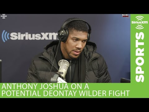 Anthony Joshua on the potential fight with Deontay Wilder