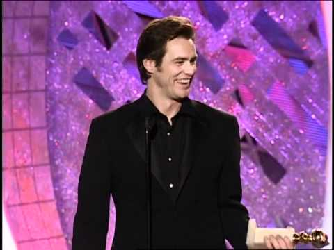 Thumbnail: Jim Carrey Wins Best Actor Motion Picture Musical or Comedy - Golden Globes 2000