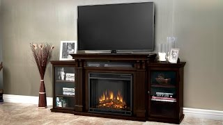 Only 83322 For Real Flame Calie Entertainment Center With Electric