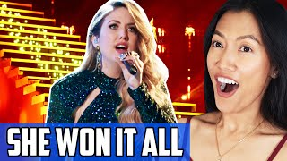 Maelyn Jarmon - Hallelujah Reaction | The Final Performance On The Voice That Won It All!