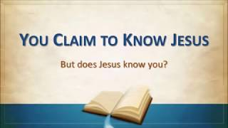 Does Jesus Know You? - Paul Washer