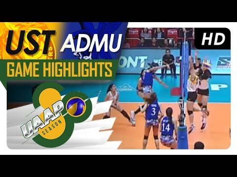 UAAP 80 WV: UST vs. ADMU | Game Highlights | April 4, 2018