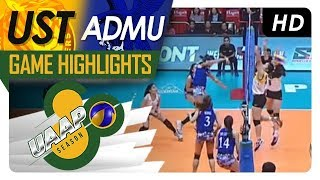 UAAP 80 WV: UST vs. ADMU | Game Highlights | April 4, 2018