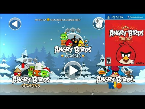 Angry Birds Trilogy - Game PS Vita - Gameplay