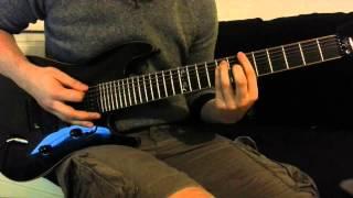 VANDEN PLAS - Godmaker - Guitar Cover (With Solo)