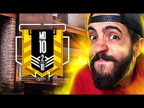 RAINBOW SIX SIEGE RANKED - MD10 #2 - CONCENTRA QUE VAI!