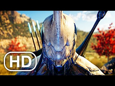 WARFRAME Full Movie Cinematic 4K ULTRA HD Sci Fi Action All Cinematics Trailers